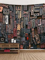 זול -נושא וגאס קיר תפאורה 100% פוליאסטר מודרני וול ארט, קיר שטיחי קיר תַפאוּרָה