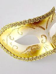 preiswerte -Superheld Cosplay Kostüme Maske Kinder Erwachsene Herrn Cosplay Halloween Halloween Karneval Maskerade Fest / Feiertage Kleben Blau / Rosa / Golden Karneval Kostüme Einfarbig