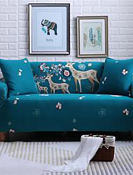 Χαμηλού Κόστους -ελάφι κινουμένων σχεδίων ανθεκτικά μαλακά καλύμματα καναπέδων υψηλής κάλυψης που καλύπτουν πλέξιμο καλύμματα καναπέ