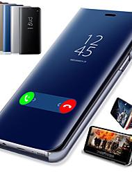 Недорогие -смарт-зеркало откидной чехол для Huawei P Smart Plus 2019 P Smart 2019 чехол четкий вид искусственная кожа откидной крышкой откидной крышкой для Huawei P Smart Plus P Smart Z honor 10 Lite честь 10