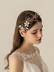 cheap -Alloy Headbands / Headdress / Hair Accessory with Metal 1 pc Wedding / Party / Evening Headpiece