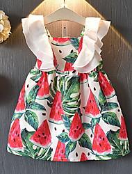 お買い得  -幼児 女の子 果物 ドレス ホワイト