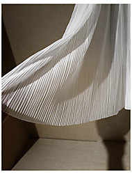 baratos -Chifon Cor Única Elástico 150 cm largura tecido para Vestuário e Moda vendido pelo 0,45 m