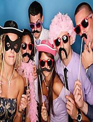 povoljno -Vjenčanje / Festival Party oprema Jedinstven svadbeni dekor / Rekviziti za slikanje Pletena ljetna obuca Tvrda kartica papira Kreativan / Vjenčanje / Usne