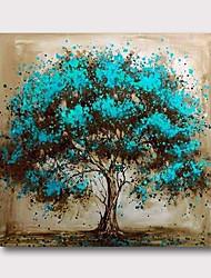 お買い得  -ハング塗装油絵 手描きの - 抽象画 コンテンポラリー 近代の 内枠を含めます