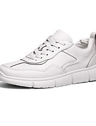 رخيصةأون -رجالي أحذية الراحة PU للربيع والصيف رياضي أحذية رياضية الركض ارتداء إثبات أبيض / أسود / البيج