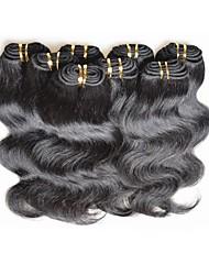 ieftine -beautysister țese păr Umane extensii de par Ondulat Păr Natural Extensii din Păr Natural Other Negru 10pcs Dame cald Vânzare Perucă Americană Africană Pentru femei Negru