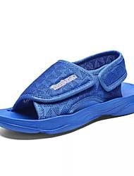 billige -Drenge Sko Net / Elastisk stof Sommer Komfort Sandaler for Børn / Teenager Sort / Marineblå