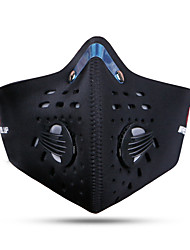 cheap -Sports Mask Black Warm Soft Winter Sports Bike / Cycling Unisex Solid Colored Polyester