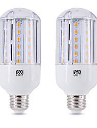 hesapli -ywxlight® 2adet 15 w 1350 lm e26 / e27 led mısır ışıkları 60 led boncuk smd 5730 doğal beyaz soğuk beyaz sıcak beyaz 90-265 v