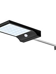 billige -1pc 4 W Solar Wall Light Vanntett / Solar / Dekorativ Hvit 3.7 V Utendørsbelysning 36 LED perler