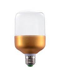 hesapli -10 W LED Küre Ampuller 510-610 lm E26 / E27 10 LED Boncuklar Serin Beyaz 220-240 V, 1pc