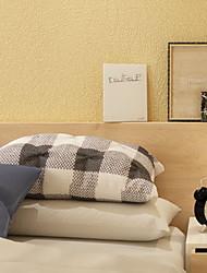 Χαμηλού Κόστους -ταπετσαρία 120γρ / τμ Πολυεστέρας Ελαστικό Πλεκτό Κάλυψης τοίχων - κόλλα που απαιτείται Μονόχρωμο