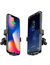 Недорогие -Aoomoon Беспроводной автомобильное зарядное устройство силы тяжести автоматический держатель мобильного телефона 10 Вт быстрая зарядка