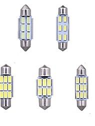 Недорогие -Автомобиль Лампы 3 W Светодиодная лампа Подсветка для номерного знака / Предупреждающие огни Назначение Land Rover / Passat / Bentley Solara / Sequoia / Prius 2014 / 2016 / 2017