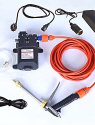 Недорогие -автомобиль стиральная машина портативный электрический 220 В повернуть 12 В модель адаптера двойной насос водяной пистолет высокого давления