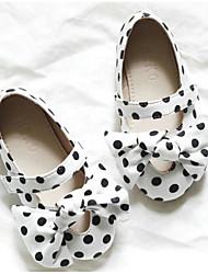 זול -בנות נעליים כותנה אביב נוחות שטוחות ל ילדים לבן