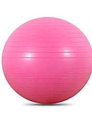 Недорогие -65 см Мяч для упражнений / мяч для йоги Толстые ПВХ (поливинилхлорида) Поддержка 1200 kg С Обучение балансу Для Йога / Пилатес