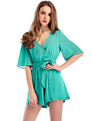 povoljno -Žene Red Navy Plava Sive boje Odjeća za igru, Jednobojni M L XL
