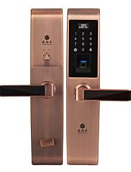 Недорогие -holishi® d3668f умный замок кодовый замок замок отпечатков пальцев умный дом система безопасности костюм для левой двери правой двери