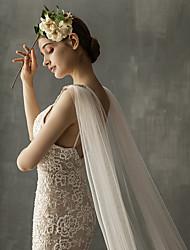 Недорогие -Один слой Элегантный и роскошный Свадебные вуали Соборная фата / Фата для венчания с Лак Тюль
