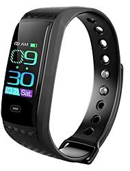 hesapli -KUPENG CK17S Unisex Akıllı Bilezik Android iOS Bluetooth Smart Sporlar Su Geçirmez Kalp Ritmi Monitörü Kan Basıncı Ölçümü Pedometre Arama Hatırlatıcı Uyku Takip Edici Hareketsiz Hatırlatma Cihazım