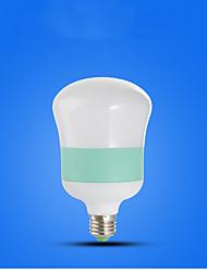 billige -15 W LED-globepærer 710-810 lm E26 / E27 14 LED Perler Kold hvid 220-240 V, 1pc