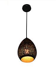 رخيصةأون -أضواء معلقة ضوء محيط طلاء ملون معدن بدون لمعة 110-120V / 220-240V