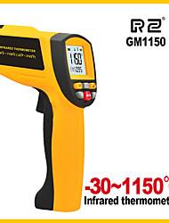 Недорогие -gm1150 -50 до 1150 градусов бесконтактный измеритель температуры промышленности ручной лазерный инфракрасный термометр