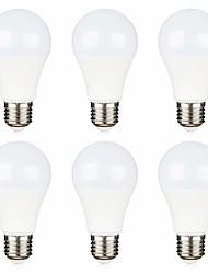 Недорогие -6шт 12 вольт светодиодные фонари низкого напряжения лампы 5 Вт (эквивалент 40 Вт) e26 / e27 стандартное основание холодный белый 6500k теплый белый 2700k