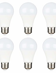 hesapli -7 W LED Küre Ampuller 550 lm E26 / E27 16 LED Boncuklar SMD 2835 Dekorotif Sıcak Beyaz Serin Beyaz 12 V, 6pcs