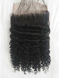 halpa -Letitetty Kihara Muuta Aidot hiukset 1 Kappale punokset Musta 8 inch 8 tuumaa Youth Koulu Brasilialainen