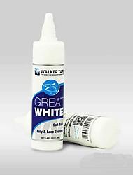 billige -Paryk Tilbehør / Værktøj og tilbehør polyurethaner / Gel Paryk lim / klæbemiddel Tape Vandafvisende 1 pcs Daglig Basale Gennemsigtig