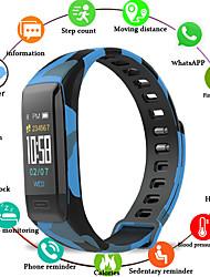 Недорогие -Kimlink V7 Женский Умный браслет Android iOS Bluetooth Smart Водонепроницаемый Пульсомер Измерение кровяного давления Сенсорный экран / Датчик для отслеживания сна / Найти мое устройство / Гиродатчик