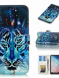 cheap -Case For Samsung Galaxy S9 Plus / S8 Plus Wallet / Card Holder / Flip Full Body Cases Animal Hard PU Leather for S9 / S9 Plus / S8 Plus