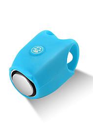 Недорогие -WEST BIKING® Звонок на велосипед Водонепроницаемость Пригодно для носки Перезаряжаемый Прочный для Шоссейный велосипед Горный велосипед Велоспорт силикагель Зеленый Синий Фиолетовый