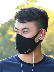 cheap -Wheel up Sports Mask Black Grey Thermal / Warm Soft Running Bike / Cycling Unisex Solid Colored Spandex Milk Fiber