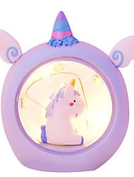Недорогие -Новинка творческий звездный ангел мини ночник единорог ночная лампа для украшения дома светодиодные настольные лампы милый детский подарок