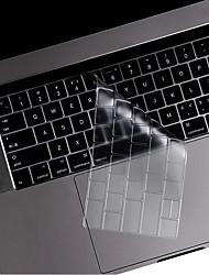 Недорогие -ТПУ Защита для клавиатуры Назначение Apple Новый MacBook Pro 13'' (без тачбара) / Новый MacBook Pro 13'' (с тачбаром) / Новый MacBook Pro 15'' (с тачбаром) Английский