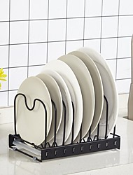 cheap -High Quality with Iron Rack & Holder For Home / Everyday Use / Cooking Utensils Kitchen Storage 1 pcs