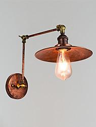 Недорогие -Ретро Подголовники Металл настенный светильник 110-120Вольт / 220-240Вольт 4 W