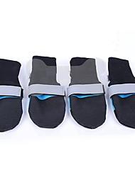 abordables -Animales Pequeños de Pelo Calcetines Cubrezapatos Diseño Único Un Color Fucsia Verde Azul Para mascotas