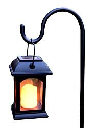 preiswerte -1pc 0.2 W Pendelleuchten / Leuchte für Rasenplatz / LED-Straßenleuchte Solar Gelb 1.2 V Hof / Garten LED-Perlen