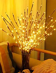 Недорогие -Plantas artificiais levou salgueiro galho luzes 20 lâmpadas plantas de plástico decoração de casamento para casa plantas falsas
