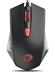 levne -dareu lm109 drátové usb optická herní myš vícebarevná podsvícená 1000/1500/2000 dpi 3 nastavitelná rozlišení úrovně 6 ks klíče