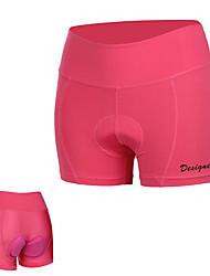 Недорогие -Mountainpeak Жен. Велошорты с подкладкой Велоспорт Нижняя часть Дышащий Виды спорта Розовый с красным Горные велосипеды Шоссейные велосипеды Одежда Плотное облегание Одежда для велоспорта