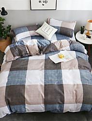 お買い得  -羽毛布団カバーセット花ポリスターは4 piecebeddingセットを印刷