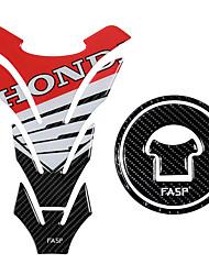 Недорогие -5d углеродного волокна мотоцикла топливного бака колодки крышка отличительные знаки газовая крышка наклейка для Honda cb500 cbr300r cb300f cbr150 cbr500r