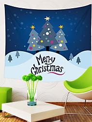 זול -חג המולד קיר תפאורה 100% פוליאסטר מודרני וול ארט, קיר שטיחי קיר תַפאוּרָה