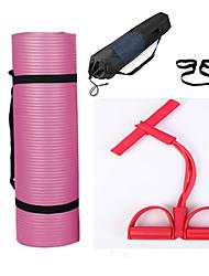 """levne -Podložak za vježbanje Gym Mat 1 cm 50 cm (19 7 / 8"""") Průměr Voděodolná textilie Outdoor Voděodolné Jóga Venkovní cvičení Pro Vše"""